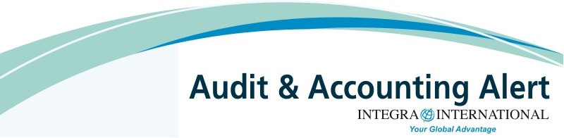 Audit & Accounting Alert Newsletter